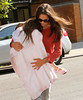 Non-Exclusive <br /> 2011 August 8 - Katie Holmes and sleepy Suri Cruise out and about in NYC.  Photo Credit Jackson Lee