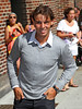 NON EXCLUSIVE<br /> 2011 August 24  - Rafael Nadal at the 'David Letterman Show' in NYC. Photo Credit Jackson Lee