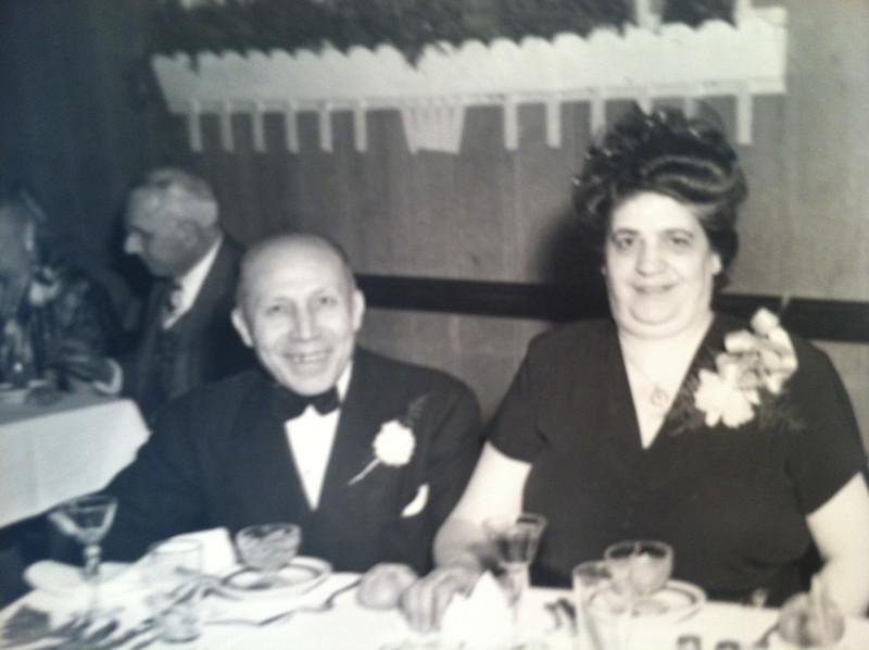 John & Angelina Mazziotta. Tessie parents