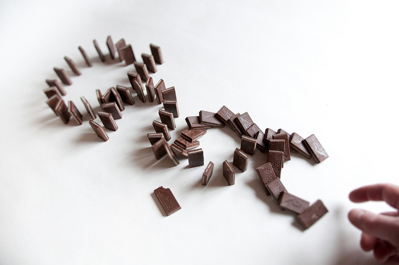 Chocolate dominoes, Andes