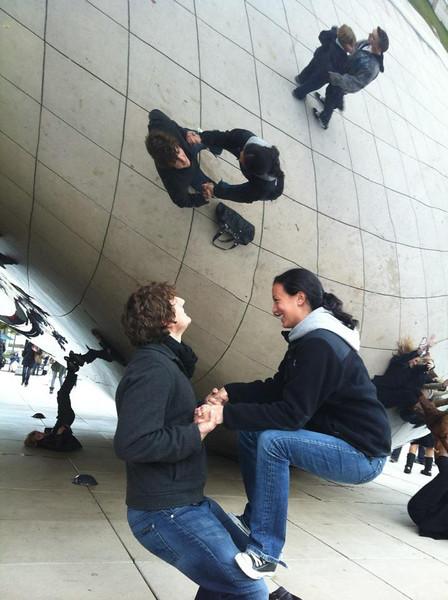 2011-11-08 Adam and Becca in Chicago 2