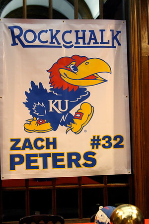 Zack Peter's signing day