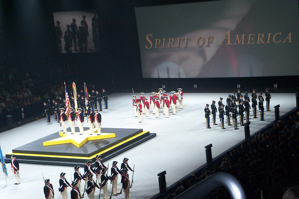 Spirit of America -  performance at the Verizon Center 9/10/11