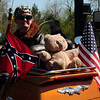 Look!  Teddy gets to ride too!
