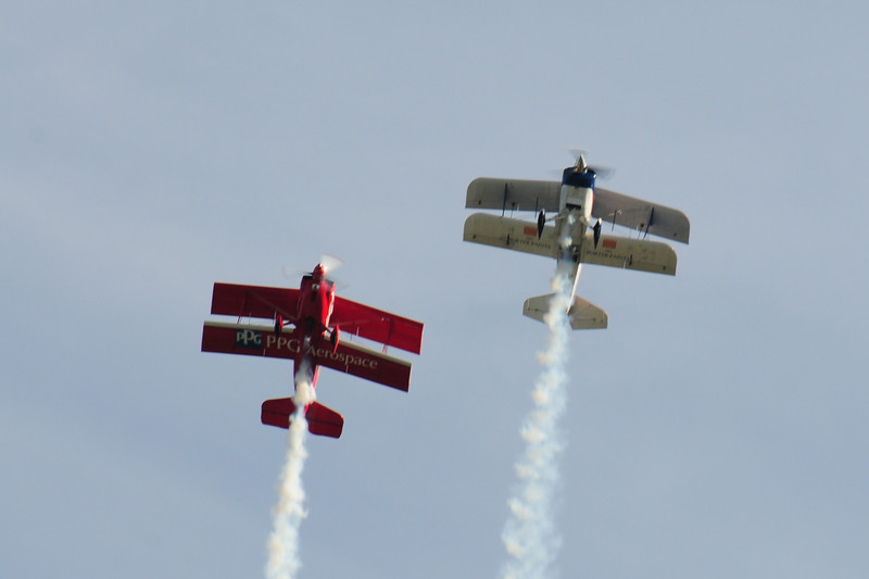 And last but not least we have the Biplane performance of aerobatic flying.