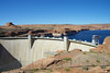 Glen Canyon Dam at Page AZ
