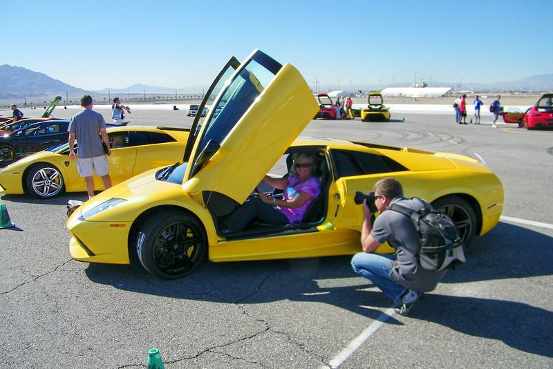 SO how does the Lamborghini fit