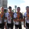 Left to right: Colt Albrecht, Scott Smith, Sean Hawes, Paul Bracken