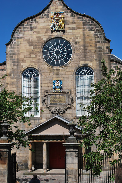 The church where the Queen worships when she is in Edinburgh - it's on Royal Mile close to the Palace.