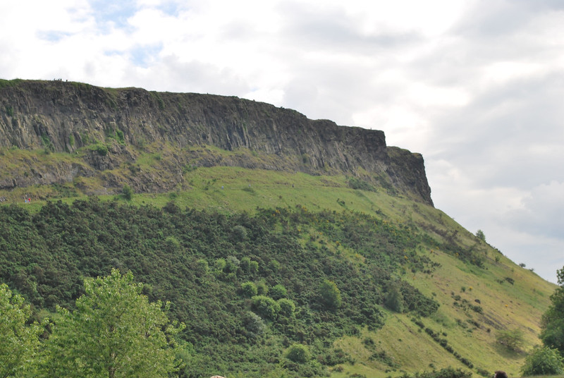 Arthur's Seat - a favorite spot for hiking (or commiting suicide), it is situated near Hollyrood Palace.