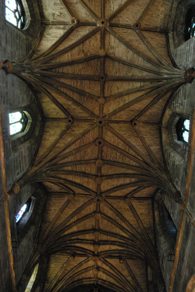 The ceiling at St. Giles