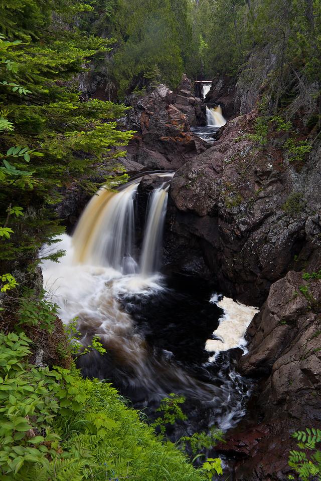 One of the Cascade falls.  A nice lovely drop with several more upstream.  One of the many nice spots along the river.