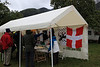 The Savoie Libre (Free Savoie) stall at the Fiore de la Compôte en Bauges, 18th September 2011.