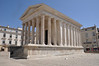 Maison Carree Temple (rivals Pantheon as the most complete and beautiful of roman buildings still up. Why is it up? Been in continuous use.