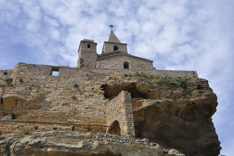 Chateau de lHauture<br /> Saint Sauveur Church of Fos sur Mer