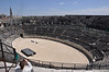 Arena in Nime. Waiting for gladiators