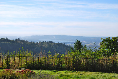 The view from View Point Inn, Corbett, Or.