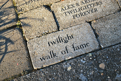 The Twilight Walk of Fame at The View Point Inn.