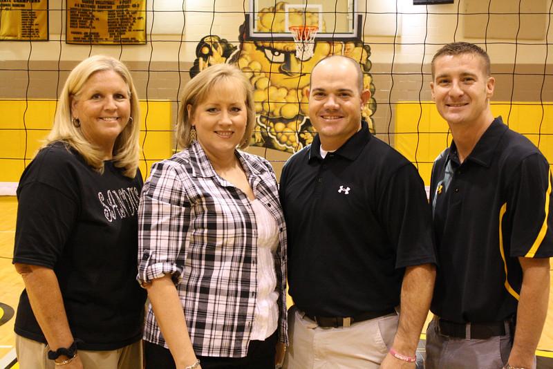 Coaches: Eudy, Barker, Morris, Stokes