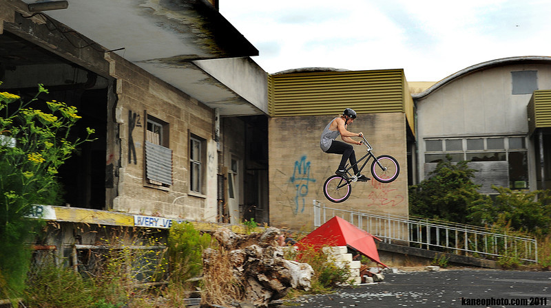 Gus big hop to flat was cool at the old Mt G hospital.