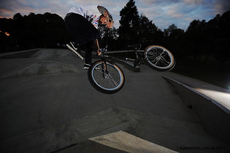 Dempsy. Nice Guy, Tough tats, Stylee as rider.