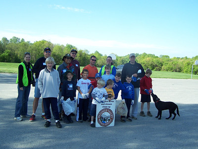 3.19.11 Stream Cleanup & Invasive Plant Removal along Unnamed Stream behind Northfield Elementary School