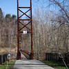 1st sway bridge on the grist mill trail illchester