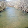 clean silt in the patapsco river after dam removal upstream