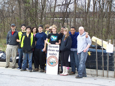 4.10.11 Herbert Run Cleanup at Hollins Ferry Road