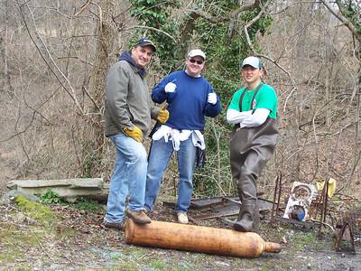 4.2.11 Newcut Stream Cleanup in Ellicott City