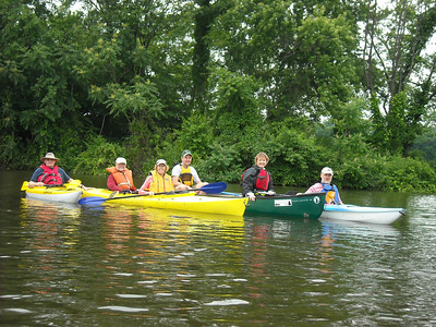 6.5.11 Guided Kayak/Canoe Ride from the Lower Patapsco River into the Middle Branch