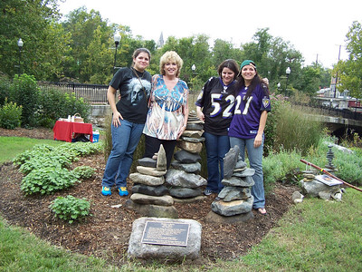 9.25.11 Unveiling of Teddy Betts Memorial Cairn in the Patapsco River Valley