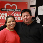 Lety Covarrubias and Greg Arechar