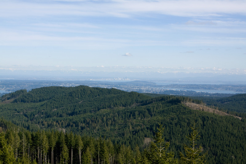 Puget Sound from Green Mountain.