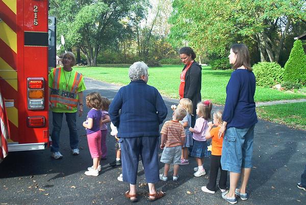 20111012- Fire Prevention with Conesus Lake Nursery School