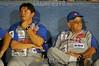 Nicaragua - Rivas (25 .03.2011) Campeonato de Beisbol Superior German Pomares. Rivas vs Boer , Juego suspendido por falta de fluido electrico. / Nikaragua : Baseball. Schlagball. © Oscar Navarette/LATINPHOTO.org