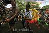 Nicaragua : Un hombre baila durante las festividades en honor a Santo Domingo de Guzman , patrono de los Managuas . / Santo Domingo de Guzman (Saint Dominic) festival, the patron saint of the capital Managua. / Nikaragua: Fest des Santo Domingo de Guzman, Schutzheiliger von Managua. © Jorge Torres/LATINPHOTO.org