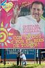 Nicaragua - Managua (05 .10.2011) Comienza campana Electoral para partidos politicos, Partido FSLN, Daniel Ortega. / Daniel Ortega was nominated to run as a candidate for President of Nicaragua in the general election of November 2011. Daniel Ortega and the 2011 Nicaraguan Presidential Election. / Nikaragua : Präsidentschaftswahl in Nicaragua 2011. Wahlplakat von Daniel Ortega. © Inti Ocon/LATINPHOTO.org