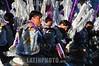 Argentina - Buenos Aires (15 .10.2011) La comunidad boliviana en Buenos Aires desfila por la Avenida de Mayo celebrando a la Virgen de Copacabana. / Bolivian community in Buenos Aires parades along the Avenida de Mayo celebrating the Virgen de Copacabana. / Argentinien , Die bolivianische Gemeinschaft in Argentinien feiert das Fest der Schutzheiligen Virgen de Copacabana. Migranten. Volksfest. Brauchtum. Trachten. Tanz. Festumzug. Zuwanderer. Zuwanderung. © Patricio Murphy/LATINPHOTO.org