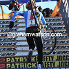 No 1 in 2010, No 1 in 2011..? Stybar climbs the stairs again, he's way out in front now..!