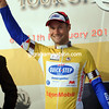 Tom Boonen is still the race-leader, but by just one-second over Haussler...
