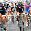 Strong men like Bradley Wiggins and Juan Antonio Flecha lead a new front group of about 30 riders...