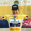Heinrich Haussler is now the race-leader of the Tour of Qatar..!
