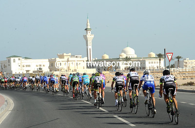This might be a bike race, but let's not forget which part of the world we are in...