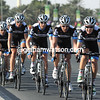 Garmin-Cervelo crank up the pace with three-kilometres to the bonus sprint...