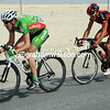 Mark McNally and Greg Van Avermaet have made an unchallenged escape from the peloton...