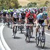 Omega Pharma-Lotto is leading a desperate chase now - the peloton seems to have miscalculated today...