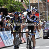 Cameron Meyer beats De Gendt to win stage four - the sprinters' team have finally been beaten..!