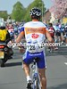 Rabobank has changed its jerseys for the day, in favour of the Ride of the Roses fund...