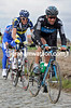 Juan Antonio Flecha has attacked on the Oude Kwaremont - the race has started..!